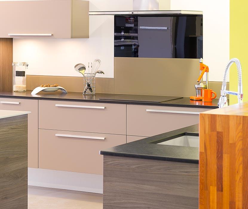 Cuisine design sur-mesure (Gaigneux meubles) en Ille et Vilaine