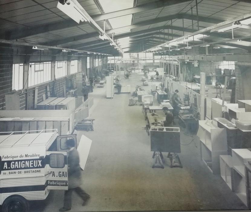 Création de meubles et cuisines depuis 1926 en sud Bretagne